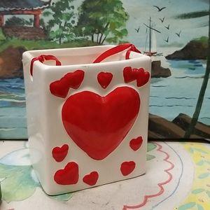 Vintage Ceramic rectangular box